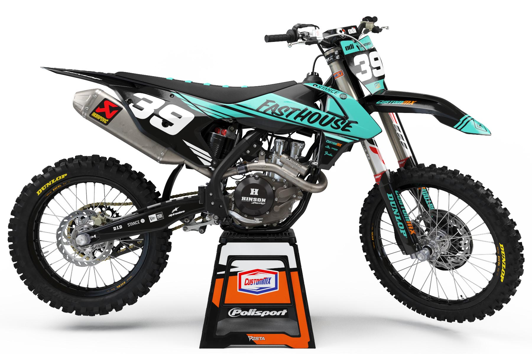 2019 Ktm Sxf >> Split Series (Teal/Black) – KTM SX/SXF/EXC/EXC-F Graphics Kit – Custom MX – The Home Of Semi ...